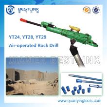 Air-Leg Yt28 Yt29 Wet Drilling Jack Hammer for Quarrying Rock