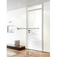 European Oak Wood Laminate Modern White Oak Door