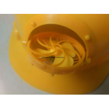 The Latest Hot Style Fan Helmet Construction Helmet ABS Safety Helmet, Ce Certificate HDPE or ABS Material Construction Safety Helmet with Fan Helmet