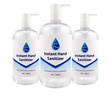 Großhandel 75% Alkohol NonSticky Waterfree Hand Sanitizer Gel