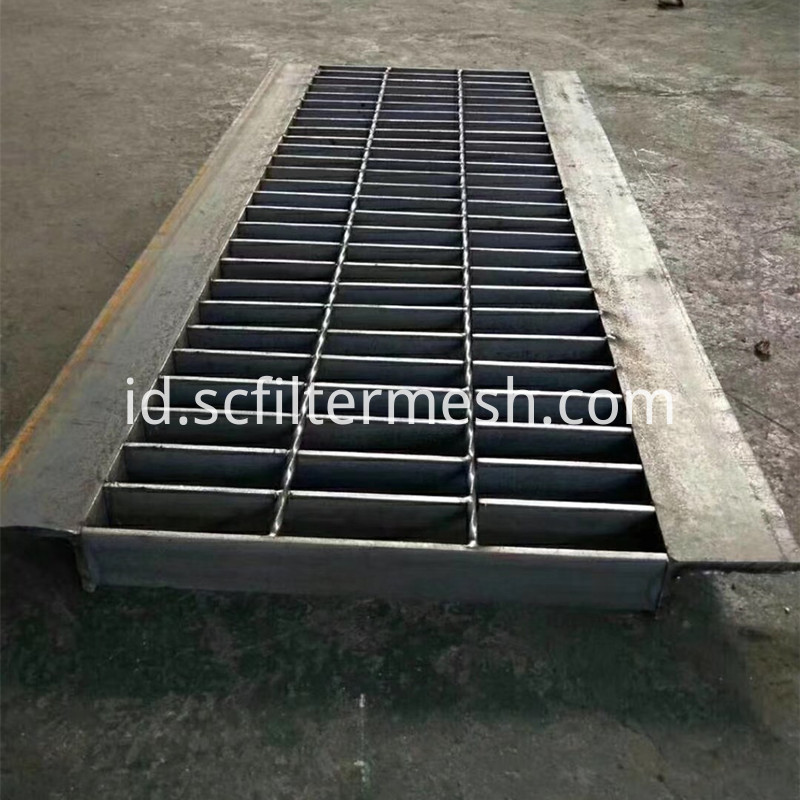 Steel Grating Trench Cover