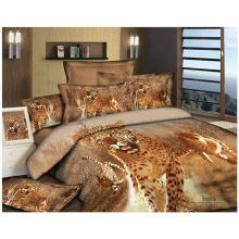 100% algodón 40s 133 * 72 reactivos impresos al por mayor juegos de ropa de cama 3d