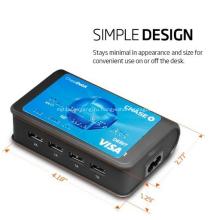 Универсальное зарядное устройство 4-портовая USB зарядная станция