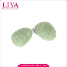Оптовые продажи зеленый чай растительные волокна, пилинг лица Губка Аморфофаллус коньяк
