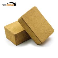 Custom Made Eco-friendly Natural Cork Yoga Block