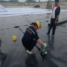 Черный строительный водонепроницаемый материал HDPE, используемый для горнодобывающей промышленности