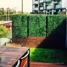 Hogar y jardín privacidad artística duradera de la pared del seto para el panel de la cerca