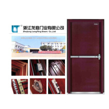 Bien recibidos cortafuego puerta madera puerta