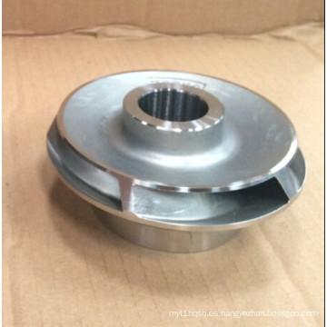 Fundición de arena de acero inoxidable / fundición de acero al carbono para piezas de la bomba