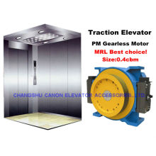 Machine de Traction synchrones ascenseur sans engrenage à un aimant permanent