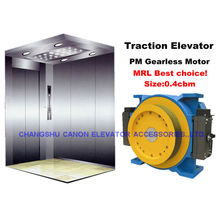 Máquina de tração de elevador Gearless síncrono de ímã permanente
