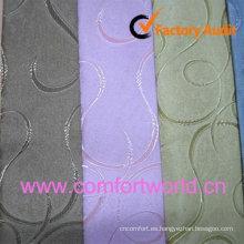 Tela de la cortina del telar jacquar de 2012 moda hecho 85% poliéster, 15% chenilla