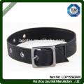 PU Dog Chain Black Straps Pet