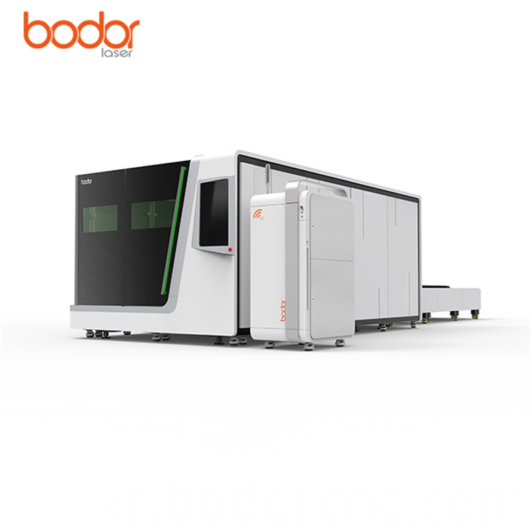 Two automatic exchange platforms system laser cutter