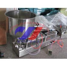 Halbautomatische Einkopf-Salbe-Füllmaschine