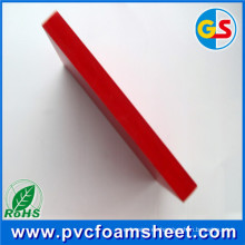 Proveedor de chapa de espuma rígida de PVC (tamaño más vendido: 1.22m * 2.44m blanco y alta densidad)
