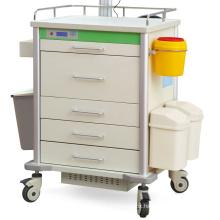 Hospital furniture Medical Mobile Hospital Computer Desk Workstation Mobile caert  trolly