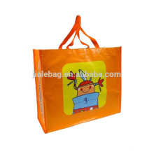 WHOLESALE recycle plastic bag promotional bag/pp NON woven shoppingbag
