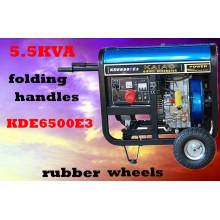 3kw 5kw 6kw Ar Pequeno Gerador Portátil Portátil Gerador Diesel 5kVA