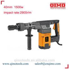 Ferramenta giratória do martelo da porca 40mm 1500w ferramentas eléctricas do qimo
