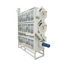 Máquina de linha parboilizada de nivelador de comprimento de arroz em casca
