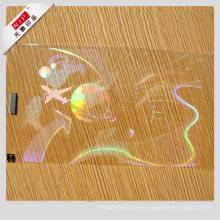 Tarjetas de visita de encargo del holograma 3D con el logotipo del holograma