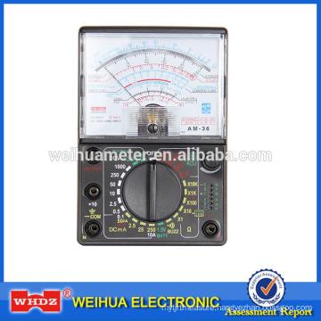 Analog Multimeter Analog Meter Multimeter, Voltage Meter Current Meter Portable Meter AM-36