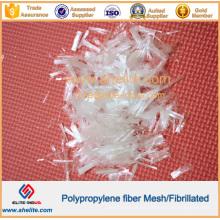 Reforço de concreto de microfibra fibrilada