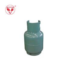 Cilindro de gas lpg de cocina portátil de 2 kg del mercado de Oriente Medio