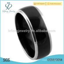 Roman antique plain rings, titanium custom rings for men