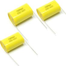Condensador de poliéster metalizado Axial Cl20 335j400V