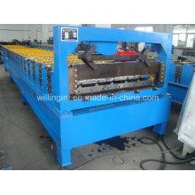 Máquina formadora de rollos de láminas trapezoidales de alta calidad