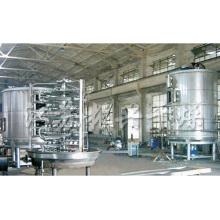 Machine à sécher à la plaque chimique continue Séchoir à la cryolite