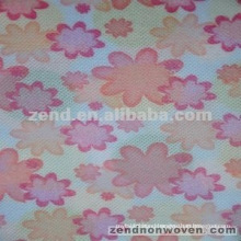 printed and laminated nonwoven products