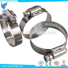 Armações ou braçadeiras de mangueira de aço inoxidável padrão ISO do SUS na China