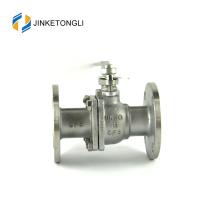 JKTLFB014 ferro fundido cf8m 1000wog Válvula de esfera dupla com flange de 2 peças