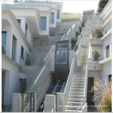 Glass Home Commercial Passenger Villa Residential Inclined Elevator