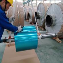 Papier d'aluminium enduit hydrophile de réfrigérateur coloré