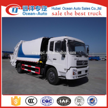 4*2 Dongfeng 14 Tons Capacity Compactor Rubbish Truck
