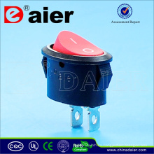 Daier Oval 10A 125VAC Interruptor oscilador