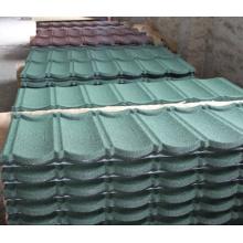 China Melhor material do telhado Stone Coated Metal