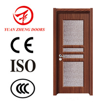 China Tür Hersteller Badezimmer Tür Design Holz PVC Tür