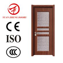 China Door Manufacturer Casa de banho Door Design Madeira PVC Door