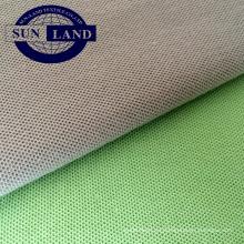 Tejido de piqué de algodón poliéster para ropa deportiva de verano