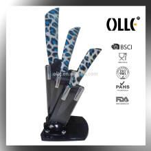 Black Blade Ceramic Knife Set