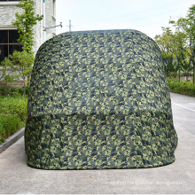 New design 2.5M*5.5Mfoldable and portable Semi automatic car shade tent shelter