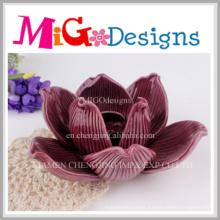 Wedding Ornaments Porcelain Handmade Flower Candle Holder