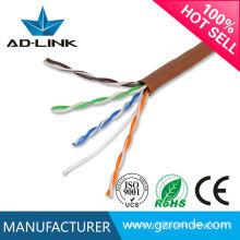 Utp cat 5e lan cable du fabricant professionnel cat5e fournitures de câble réseau