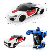Hot sale 4CH RC Transforms car with battery