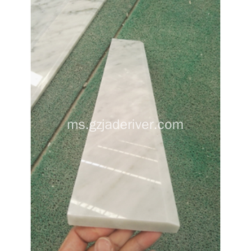 Carrara Marble Line Flooring Designs Edge